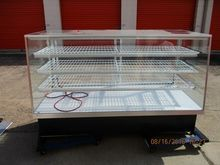 """77"""" Glass Lighted Display Case"""