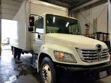 2008 Hino 268A Box Truck #70631