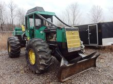 1995 Timberjack 380C Cable Skid