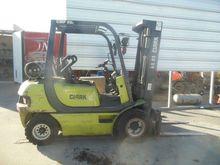 2005 Clark CMP25L, LPG Forklift