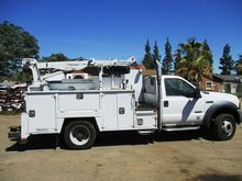 2007 Ford F550 SD Service Truck