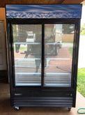2 Glass Doors Display Merchandi