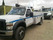 2008 Ford F550SD Service/Utilit