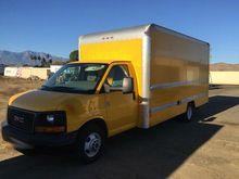 2012 GMC Savana 3500 Box Truck,