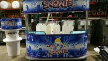 8 Foot Shaved Ice Food Cart 6 F