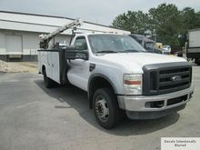 2008 Ford F450 XL SD Utility Se