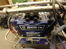 2015 Graco Reactor E-8P, Spray