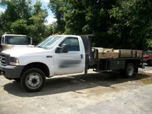 2004 Ford F450 14' Flatbed Dual