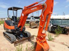 2013 Kubota KX71-3s Mini Excava