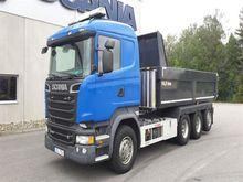 2014 Scania R 580 LB8x4*4HSA