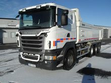 2012 Scania Istrail Dumper