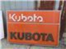 Kubota 2 Sided Sign