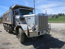 Autocar Tri Axle Dump Truck