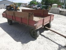 Flat Bed Wagon with Sides