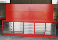 10ft HD Metal Work Bench with 2