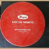 Dwyer Slack Tube Manometer 1211