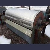 Eriez 30 x 72 Wet Drum Magnetic