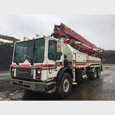 Concord 38 Meter Pump Truck