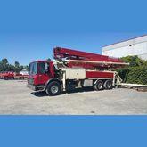 Putzmeister 38 Meter Pump Truck