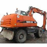 Terex 1605M Mobile Excavator