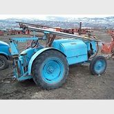 Service tractor with 4 cylinder