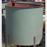 1200 Gallon Open Top Steel Tank