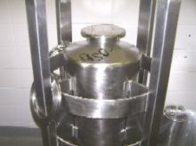 polished cylindrical stainless