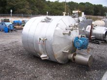 700 gallon 304L stainless steel