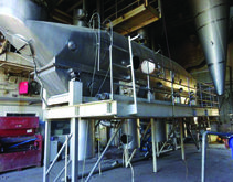 27′ X 20′ 6″ 304 Stainless Stee