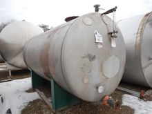 3,481 Gallon Stainless Steel Ta