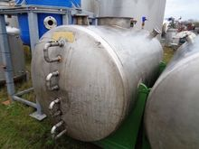 2000 Litres Stainless Steel Hor