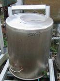 50 Gallon Stainless Steel Tank,