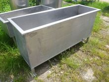 960 Litres Stainless Steel Rect