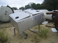 300 Gallon Stainless Steel Rect