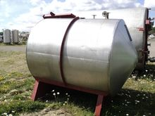 3500 Litres Stainless Steel Hor