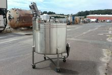 300 Gallon 304L Stainless Steel