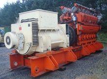 2400 KW 11000V 50HZ WAUKESHA CO