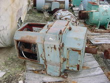 Used 100 HP MOTOR RE