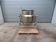 100 Litres Stainless Steel Jack