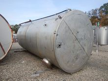 6,000 Gallon Stainless Steel Ve