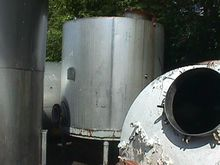 1,100 Gallon Stainless Steel Ta