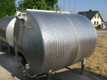 4000 Litres Stainless Steel Hor
