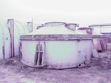 Used VACUUM PAN CHEM