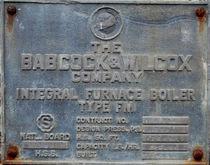 20,000#/HOUR BABCOCK & WILCOX,