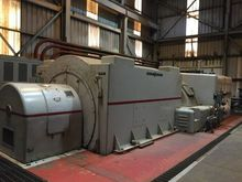 GE General Electric 15000 KW Tu