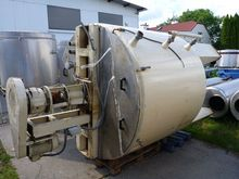 jacketed mixing tank with conta