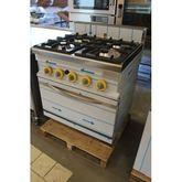 4- pits stove