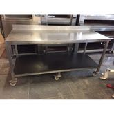 Stainless Steele Workingtable