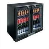 Bar display double cooling