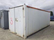 21x8 Site Storage Cabin - S2598